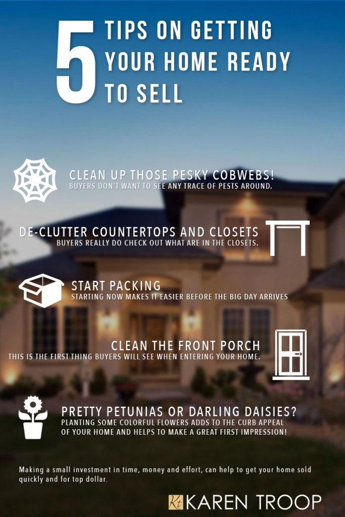 Getting Ready to sell, 5 Tips