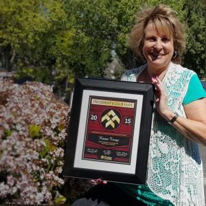 Karen Troop President's Club Elite Award